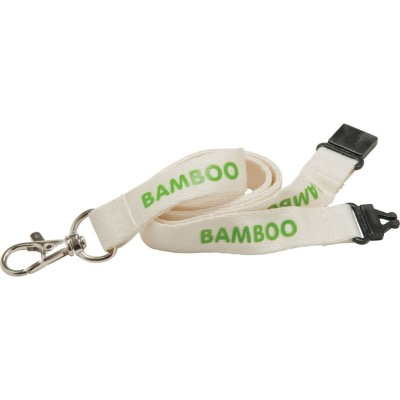 Image of 10mm Bamboo Lanyard - Natural col