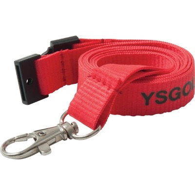 Image of 15mm Flat Polyester Lanyard