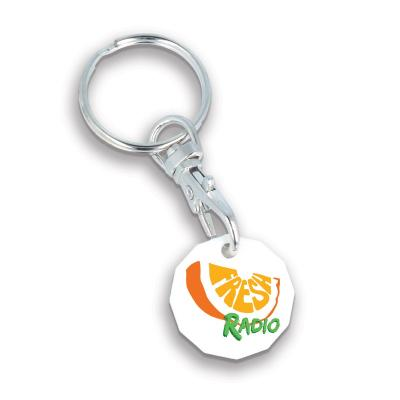 Image of Recycled Trolley Coin Keyring